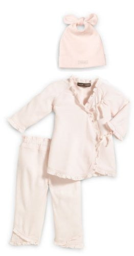 3pc. Take Me Home Deluxe Set Pink XS (3‐6 mo.)