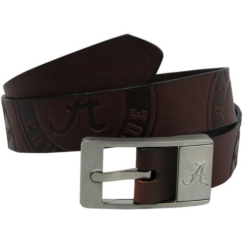Alabama Crimson Tide NCAA Brandish Leather Belt- Size 42