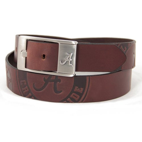 Alabama Crimson Tide NCAA Brandish Leather Belt - Size 44