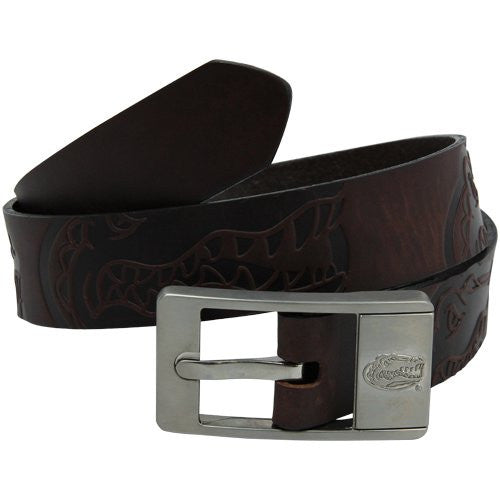 Florida Gators NCAA Brandish Leather Belt - Size 36
