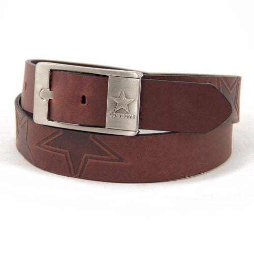 Dallas Cowboys NFL Brandish Leather Belt - Size 42