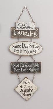 Mom's Laundry... Wall Plaque