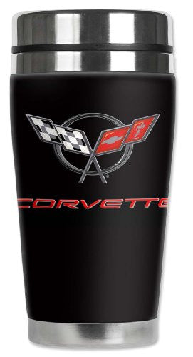 Travel Mug - Corvette C5 Logo