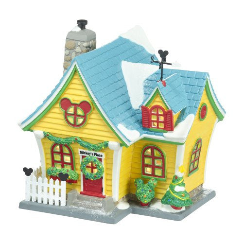 Department 56 Mickey's House