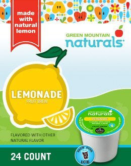 Green Mountain Naturals® Lemonade K-Cup® Packs, 24/Bx