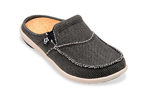 Siesta Slide Men's Charcoal Grey - Size 10