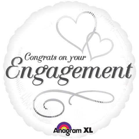 Two Hearts Engagement - Pkg (18 inches)