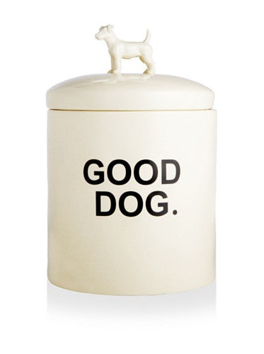 """Wilma"" Dog Treat Jar"