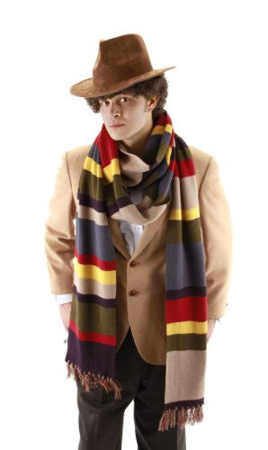 The Fourth Doctor Deluxe Long Scarf 12ft