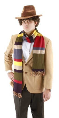 The Fourth Doctor Scarf 6ft