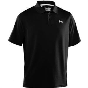 Men's Performance Golf Polo - Black, Large