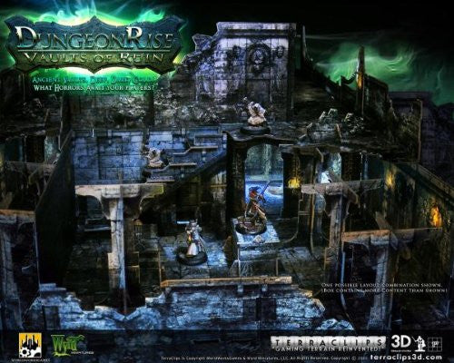 Terraclips: Dungeon Rise Vaults of Ruin