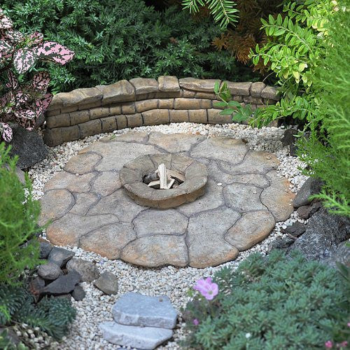 Fire Pit Patio Pad