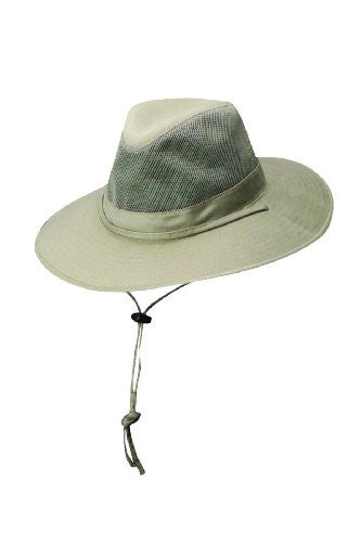 DPC Outdoors Solarweave Treated Cotton Hat (Olive / Medium / 22-22 3/8 Inches)