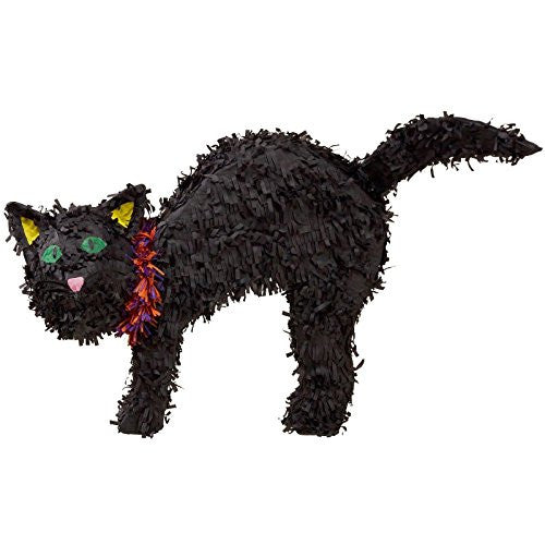 Halloween Black Cat Pinata (Black) Party Accessory