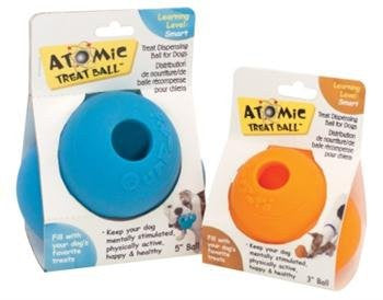 Our Pet`s Atomic Treat Ball 5 Inch