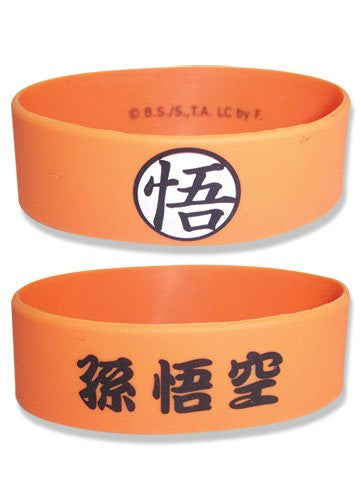 Dragon Ball Z Goku Symbol PVC Wristband