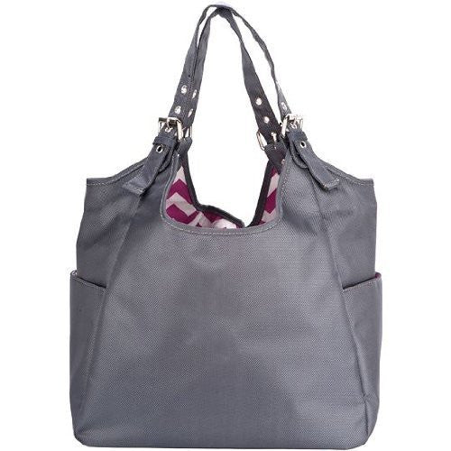 Graphite Blush Satchel