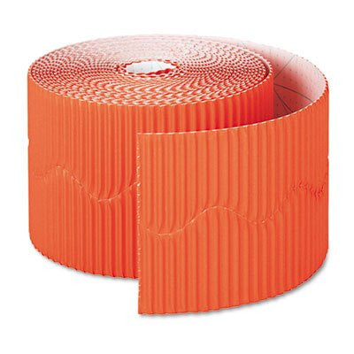 "Bordette Border, 2-1/4"" x 50 ft. (Orange)"