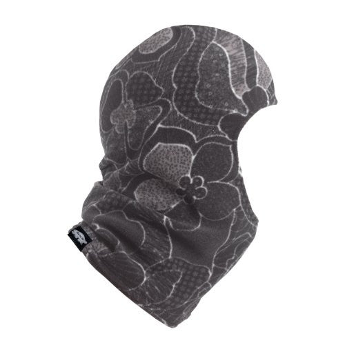 Balaclava, Classic Midweight Micro Fur Fleece Hood, Quilted Earth