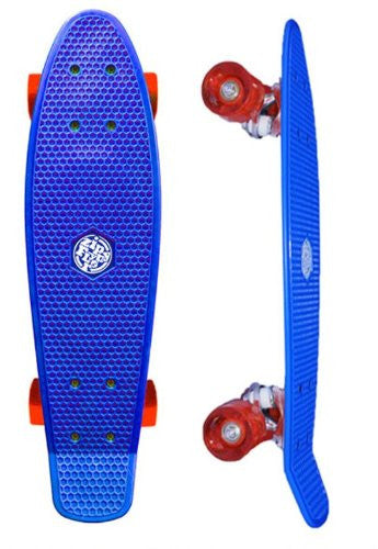 Zippy Flyer, Blue Plastic Skateboard