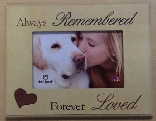 "Always remembered... - 7"" x 9"" Picture Frame"