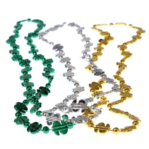 DOLLAR SIGN BEAD NECKLACES/32 INCH