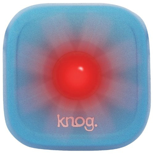 "KNOG BLINDER 1 REAR USB RECHARGEABLE ""STANDARD"" BLUE"