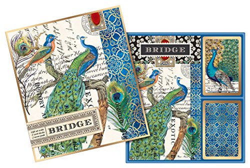Peacock, Bridge Card Set