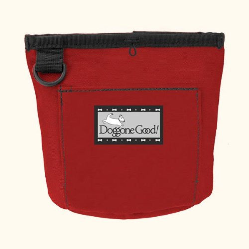 Doggone Good! - Trek & Train Treat Bag - Red