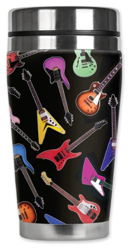 Travel Mug - Electric Guitars