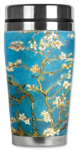 Travel Mug - Van Gogh: Almond Blossoms