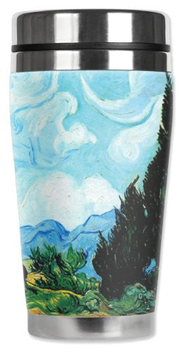 Travel Mug - Van Gogh: Yellow Wheat