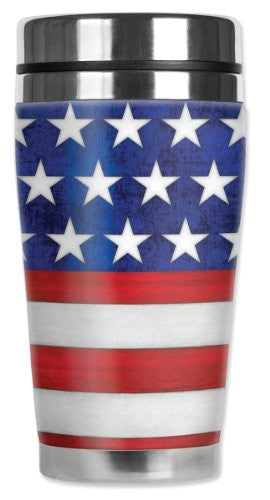 Travel Mug - Stars & Stripes