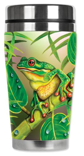 Travel Mug - Red Eyed Frog
