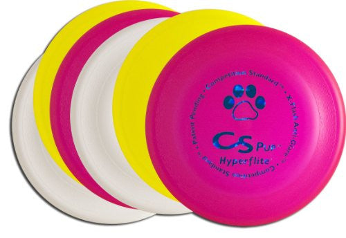 Competition Standard Pup Disc  - Asstd Colors - Pack of 6