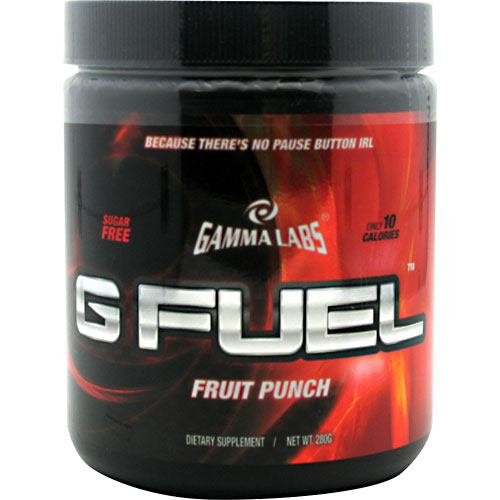 Gamma Labs, G Fuel Fruit Punch 40 Servings
