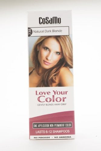 Love Your Color Hair Color #738, Natural Dark Blonde