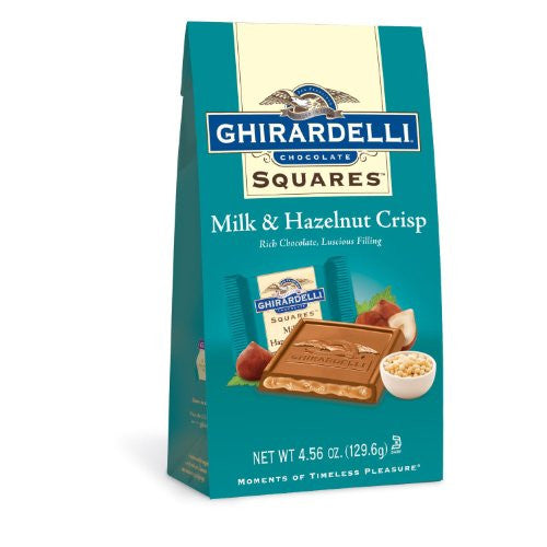 SQS HAZELNUT CRISP 4.56oz SUB 12ct GHIRARDELLI - Package