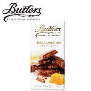Butlers Bar chocolate mlk crsp hnycmb 3.5 OZ