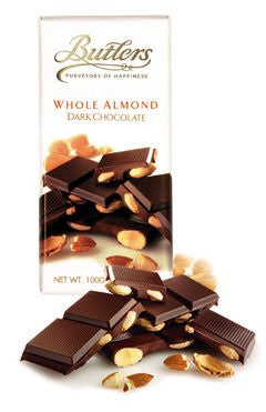 Butlers Bar chocolate drk 70% w almnd 3.5 OZ