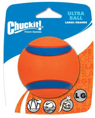 CHUCKIT Ultra Ball - 1pk - Large 3in