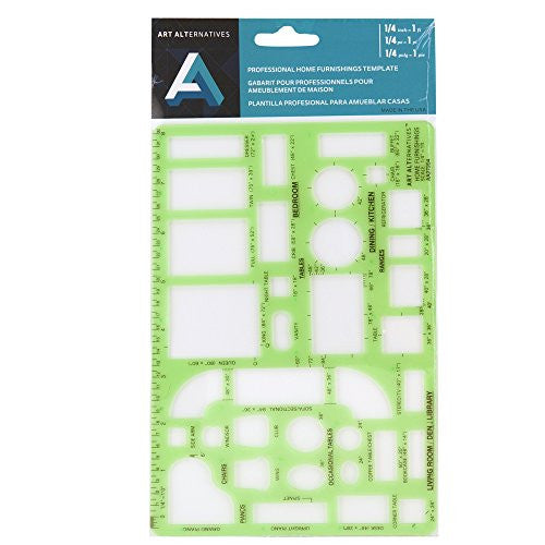Art Alternatives Professional TEMPLATE HOME FURNISHING 1/4IN INK EDG