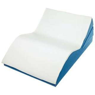 "Adjustable Leg Support w/ White Polycotton Zippered Cover 9-1/2"" x 17"" x 24"""