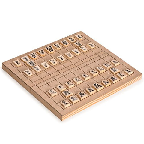 Wooden Shogi Game Set Japanese Chess w/ Folding Board (not in pricelist)
