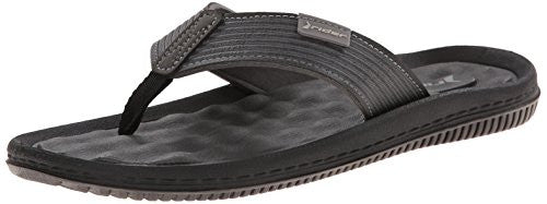 Men's Dunas VI Thong Sandal,Gray/Black, 10 M