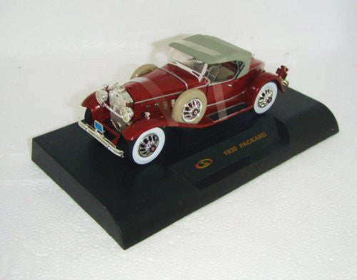 Signature Models - Packard Soft Top (1930, 1/32 scale diecast model car, Burgundy)