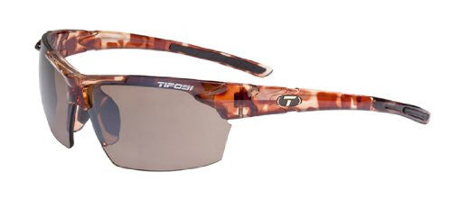 Tifosi Jet Wrap Sunglasses (Tortoise/Brown GG / One Size)