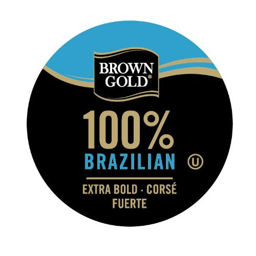 Brown Gold 100% Brazilian Bold