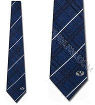 BYU Cougars Tie Oxford Woven Silk